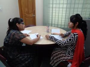 Peer Tutoring in action